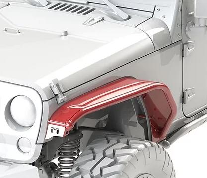 Jeep Wrangler Overland Tube Fenders – 4PC