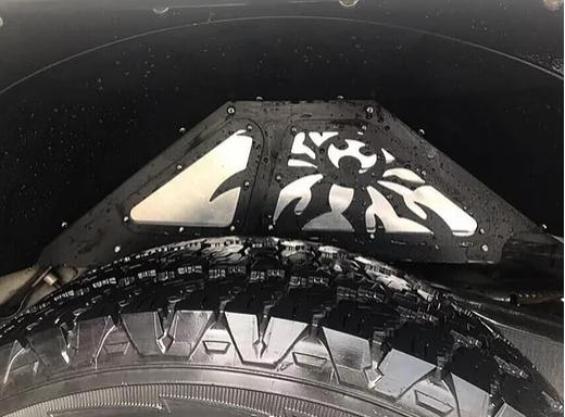 Jeep Wrangler JK Rear Inner Fender Kit – Aluminium Black