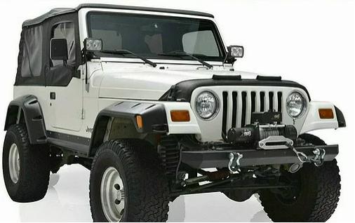 Jeep Wrangler TJ Fender Flare Kit For 1997-2006 – Pack Of 6