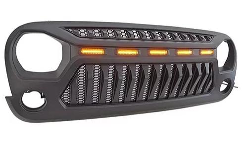 Jeep Wrangler Monster 1 LED Grille