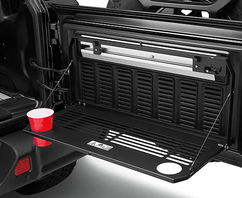 Jeep Wrangler JL Rear Tailgate Mounted Table