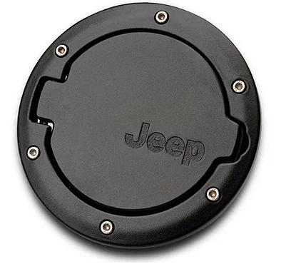 Jeep Wrangler Aluminium Fuel Door Cover