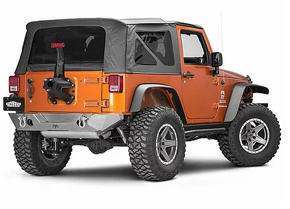 Jeep Wrangler JK/JKU Poison Spyder Rock Brawler Rear Replacement Bumper Steel (Courier Not Included, Please Request Separate Quote)
