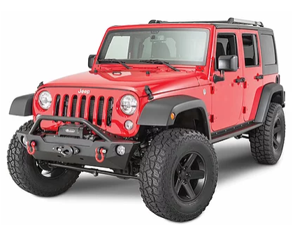 Jeep Wrangler TF Front Epic Replacement Bumper With Hoop Steel (Courier Not Included, Please Request Separate Quote)