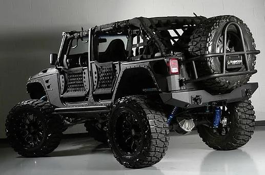 Jeep Wrangler Steel Armor Fender Flares 4-door