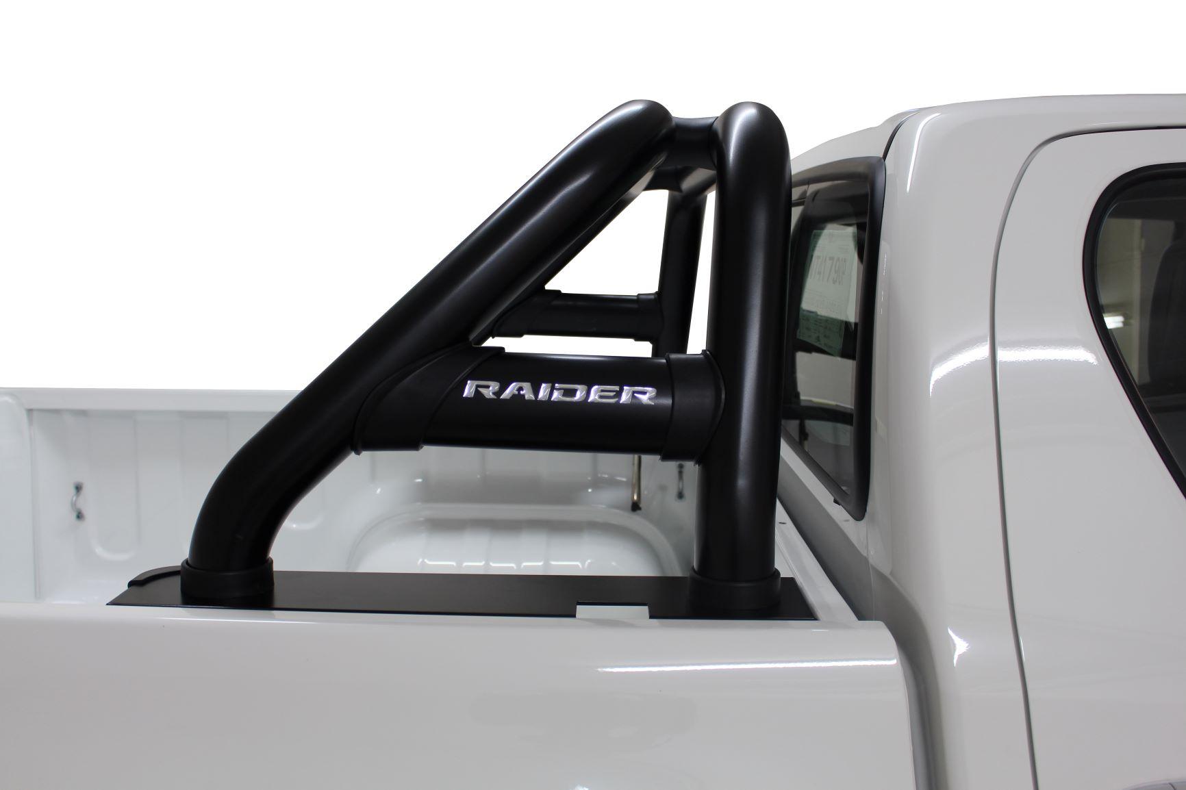 NEW HILUX FACELIFT RANGE (Fits GD6 Revo & New Facelift) Sports Bar Black Stainless