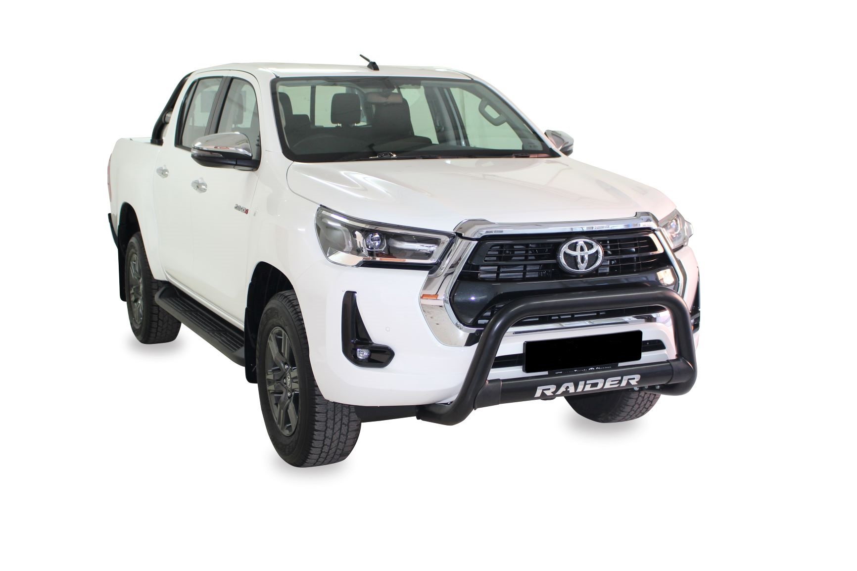 NEW HILUX FACELIFT RANGE (Fits GD6 Revo & New Facelift) Nudge Bar Stainless Steel