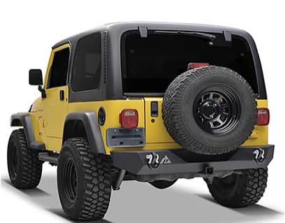 JBP041 – Paramount TJ Heavey Duty Rear Bumper