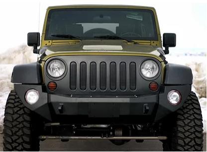 JBP042 – JK Rigid Front Bumper Complete – Steel
