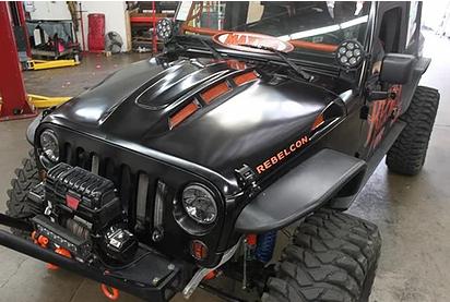 BRETS02 – Avenger Bonnet – Steel Black E-coated