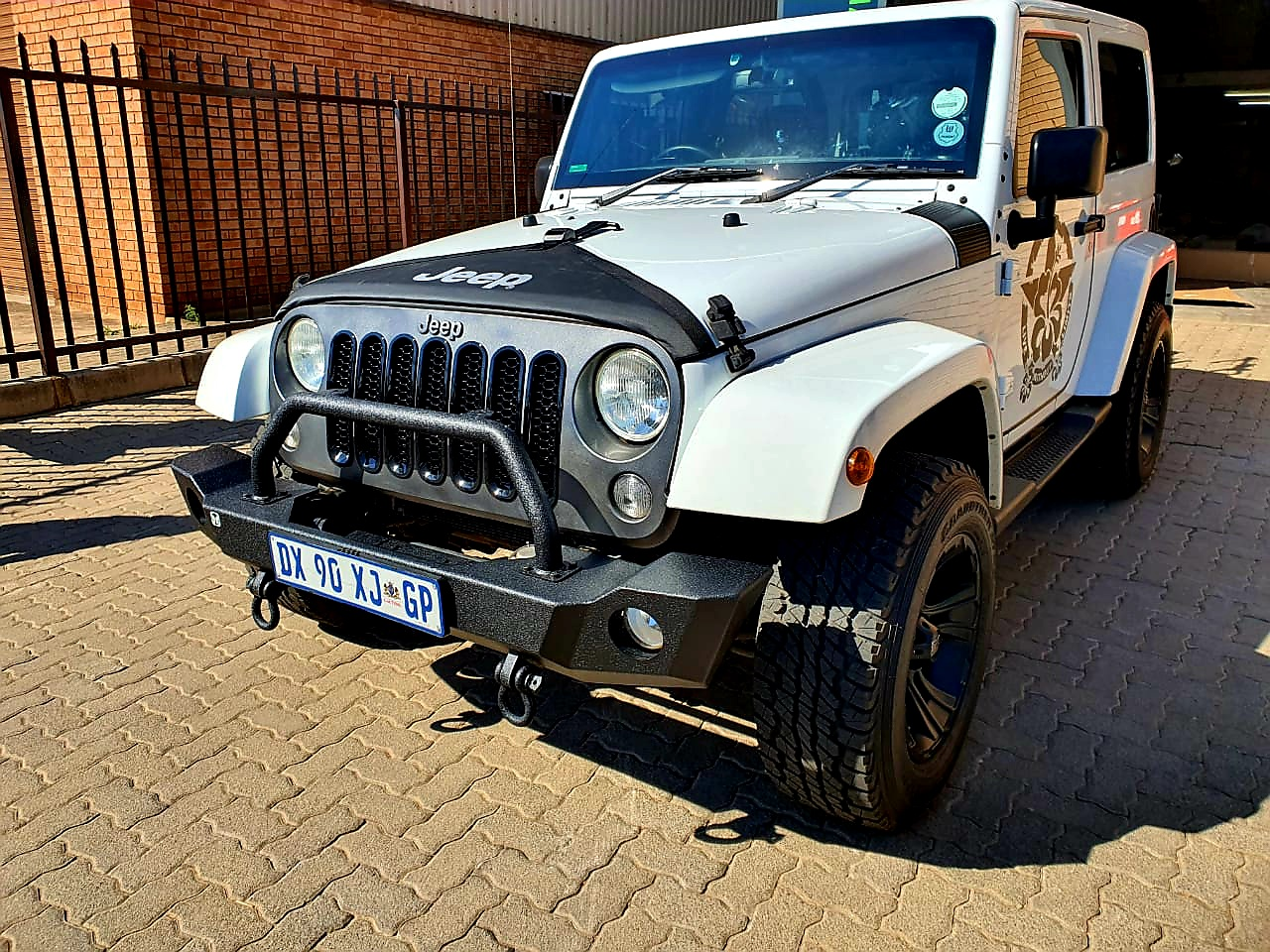 Jeep JK And JKU Steel Replacement Bumper (Courier Not Included, Please Request Separate Quote)