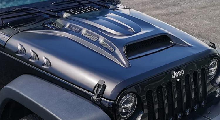 Jeep Wrangler JL Warcraft Vented Hood Steel