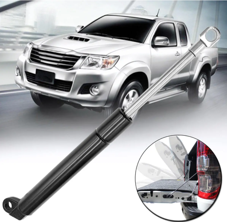 Rear Tailgate Tail Gas Strut Bar Kit Damper Slow Down With Rope For Toyota Hilux Vigo 2005-2015