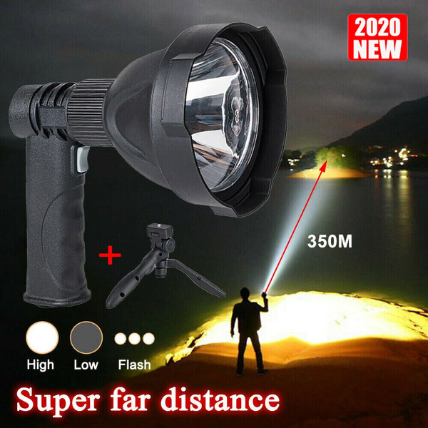 2020 LED Light Vehicle Searchlights Handheld Hunting Long-range High-power Outdoor Fishing Camping Lawn Lamp