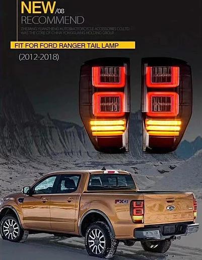 Ford Ranger LED Tail Light – Smoke Lens