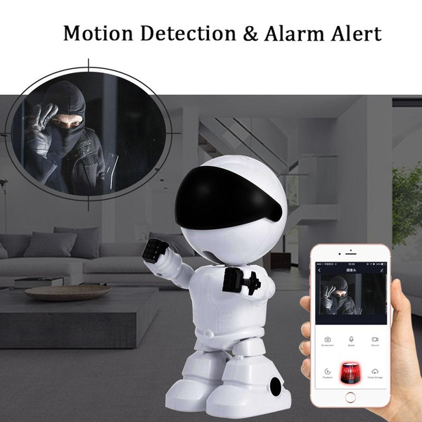 1080P Cloud Home-Security IP Camera-Robot Wireless WiFi CCTV-Camera Surveillance Intelligent Auto Tracking-Camera –