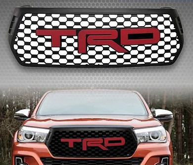 HX019 – Hilux Revo TRD Front Grill -Red