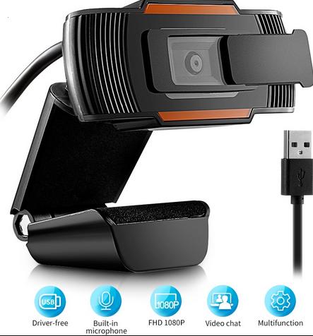 Andowl – Web Camera – Clip On Webcam – Adjustable Web Camera