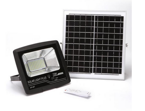 Take 2 Combo – 50W GDPLUS Solar Garden Outdoor Spotlight With Remote – GD-8450