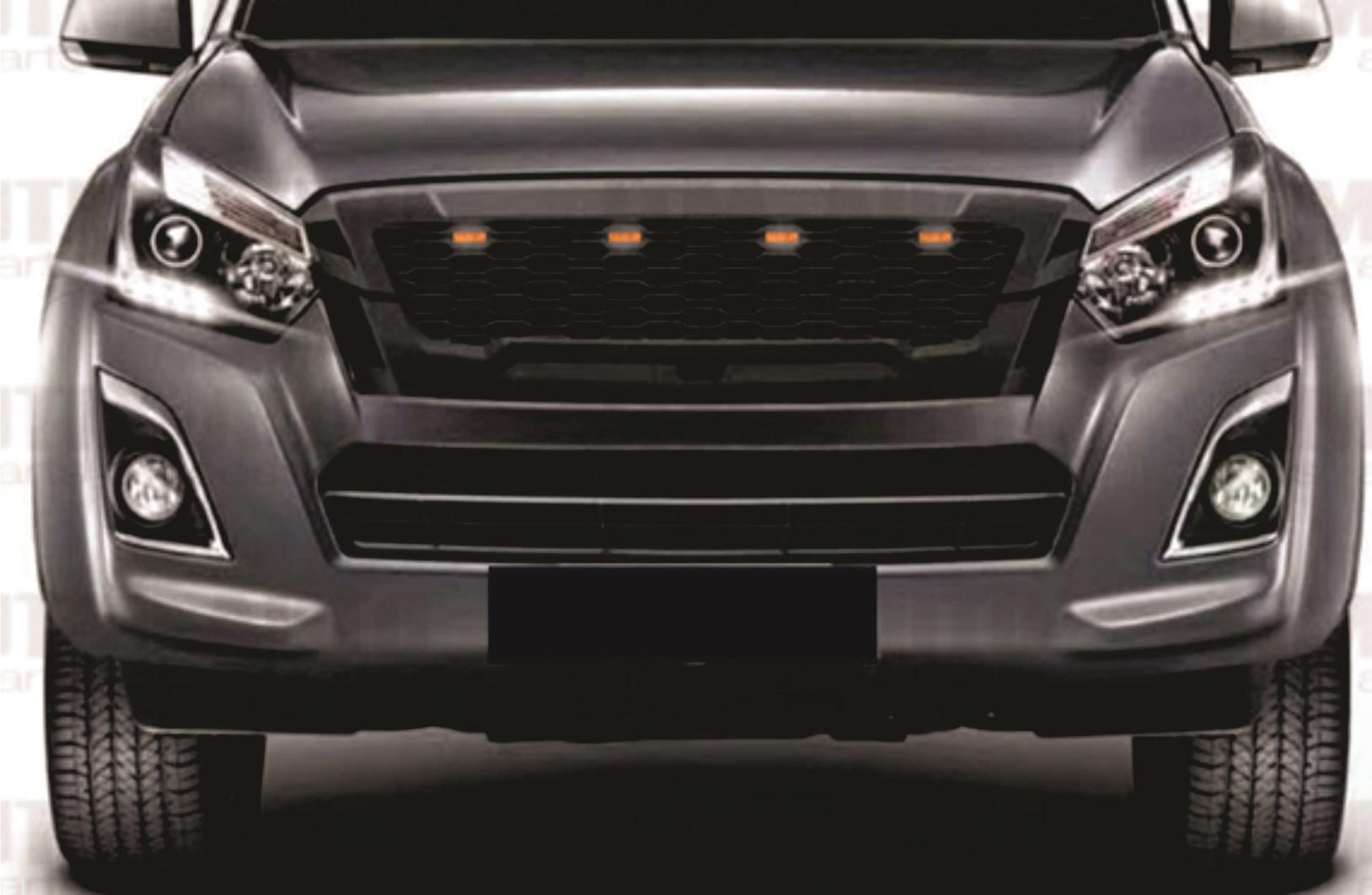 Isuzu 2016 To Current Mesh Grill With Led