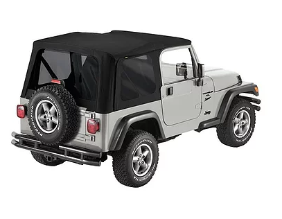 Jeep Wrangler TJ Soft Top – 1997-2006  (Rack Not Included)
