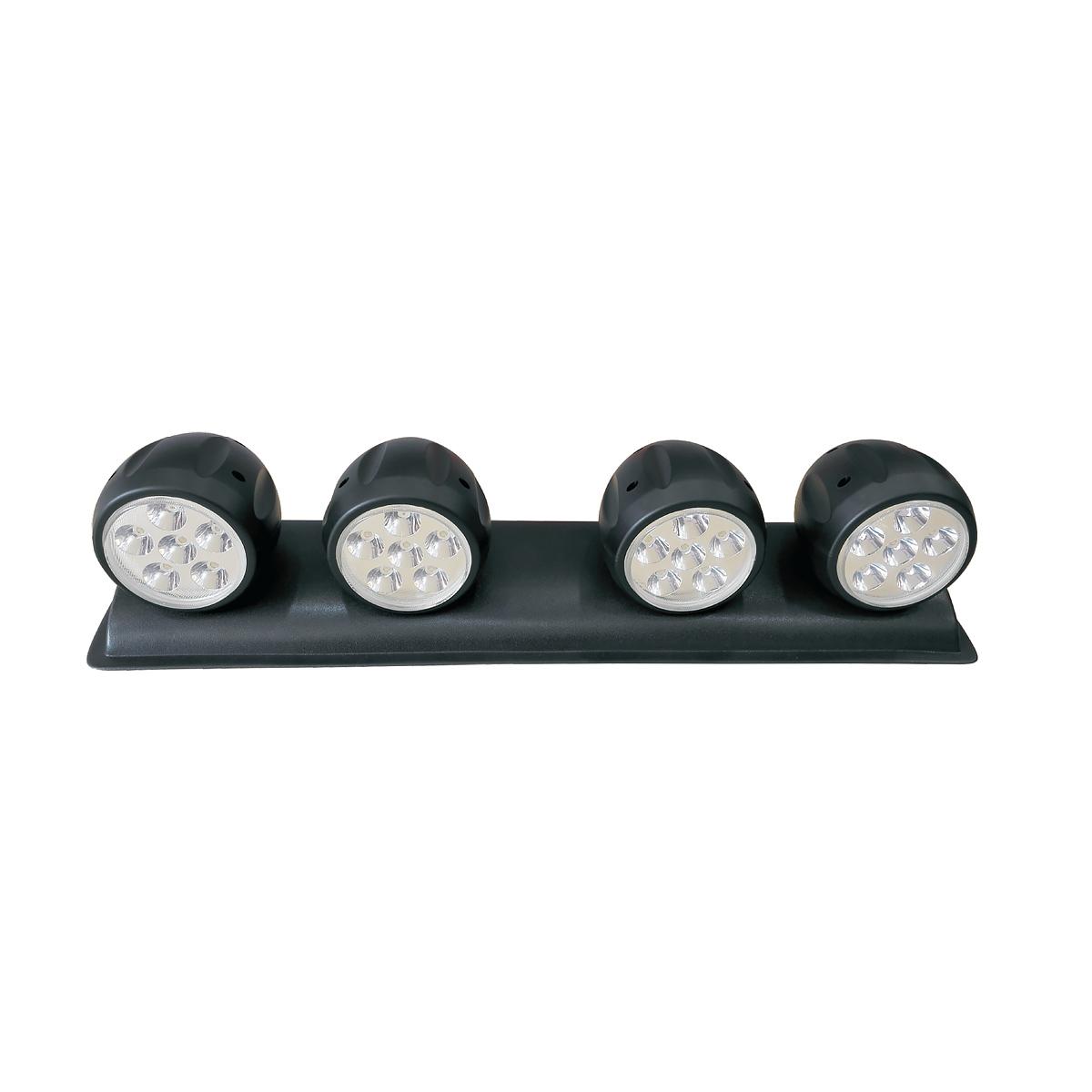 LED Roof Work Light 4 X Round 72 WATT  Spot Beam