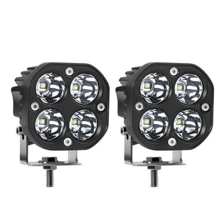 3 Inch 40 Watt Cube Pod Light Spot Light LED Pair Cree Chip Set