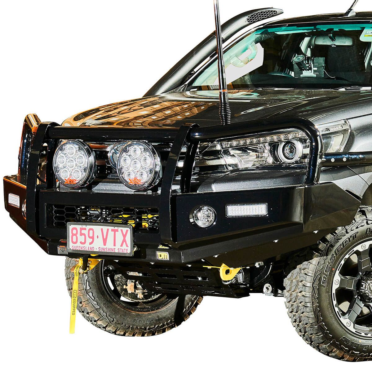 Toyota Hilux 2015 2018 Replacement Bumper (Courier Not Included, Please Request Separate Quote)