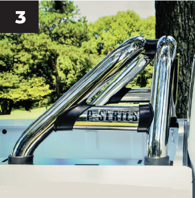 GWM P-Series Sports Bar / Roll Bar Double Cab Stainless Steel 2021+