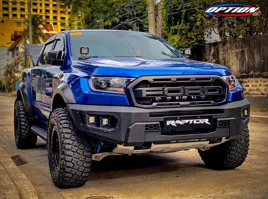 """Ford Ranger RAPTOR FRONT Bumper """"Option"""""""