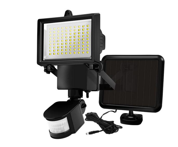 60 LED Solar Powered LED Motion Sensor Security Light