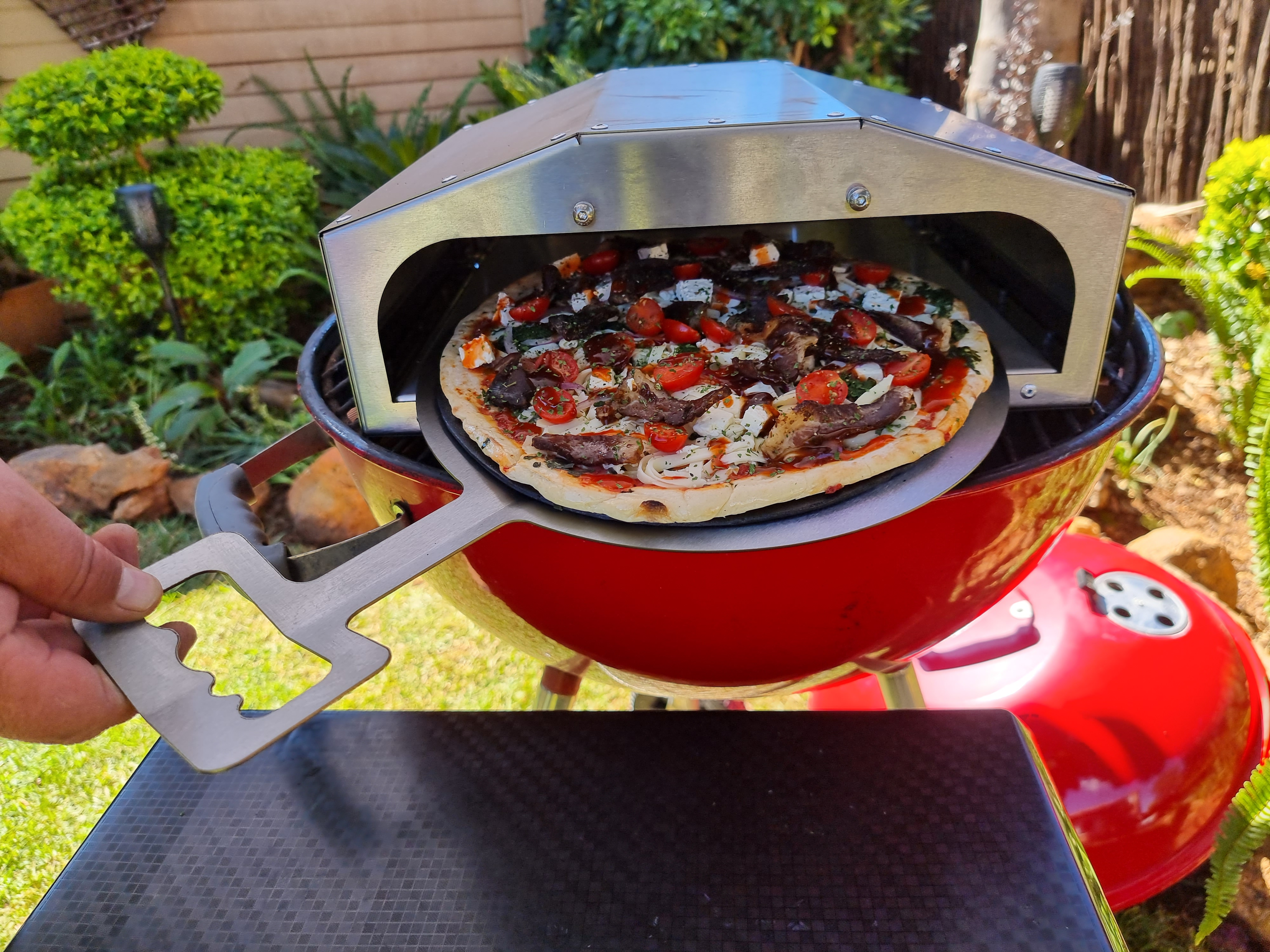 Pizza Oven For Braai – Single Large Pizza