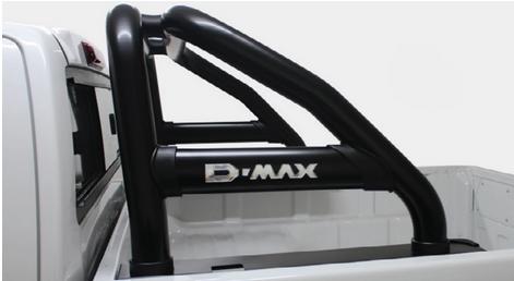 Isuzu D-Max Artav Stainless Black Premium Roll Bar 2013+