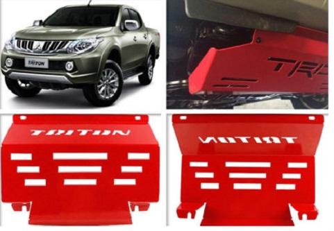 Triton Engine Guard 2015 + Steel Red Bash Plate