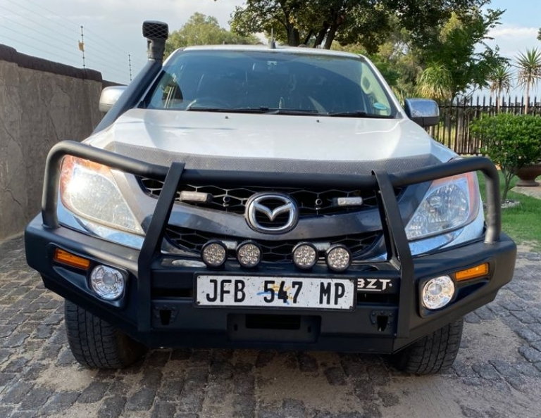 Mazda BT 50 Steel Replacement Bumper / Nudge Bar / Bull Bar (Courier Not Included, Please Request Separate Quote)