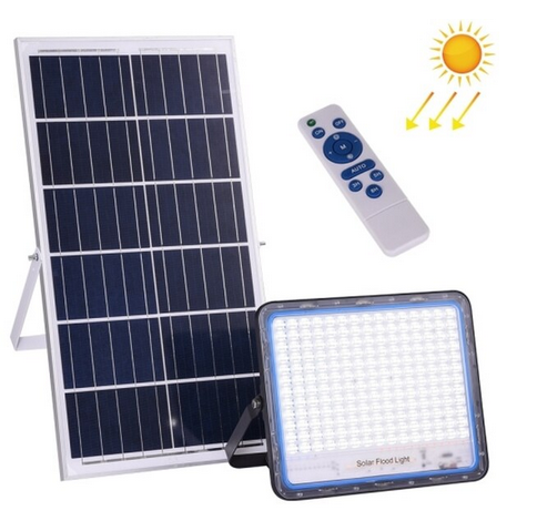 400 Watt Solar Floodlight With Remote – Jortan