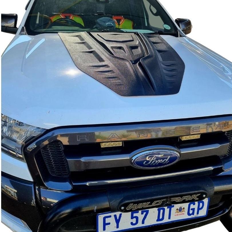 Ford Ranger / Toyota Hilux Universal Transformer Bonnet Scoop