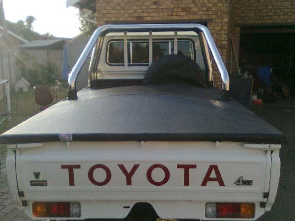 Toyota Land Cruiser Tonneau Cover