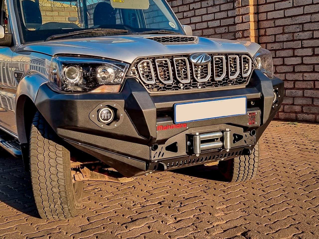 Mahindra Steel Replacement Bumper / Nudge Bar / Bull Bar