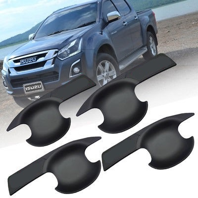 Isuzu 2013 – 2018 Inner Door Handle Bowls Black