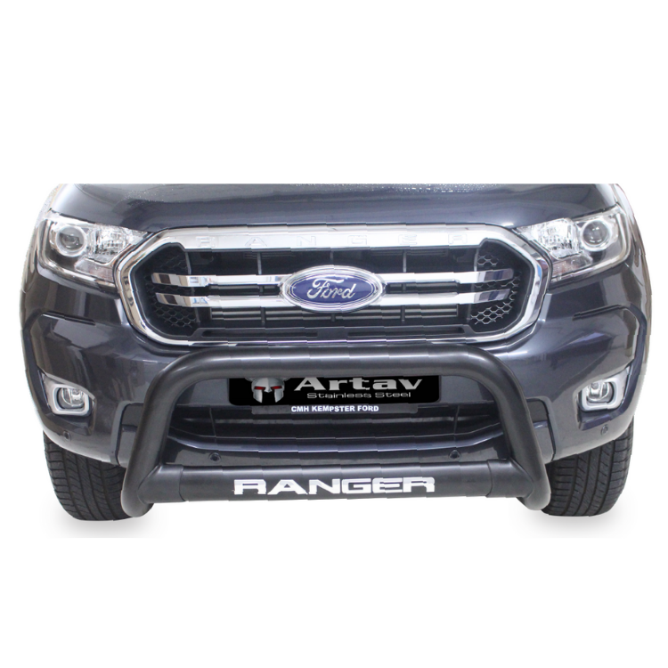 Ford Ranger T6 Nudge Bar Black (2012-2015) BS-150020
