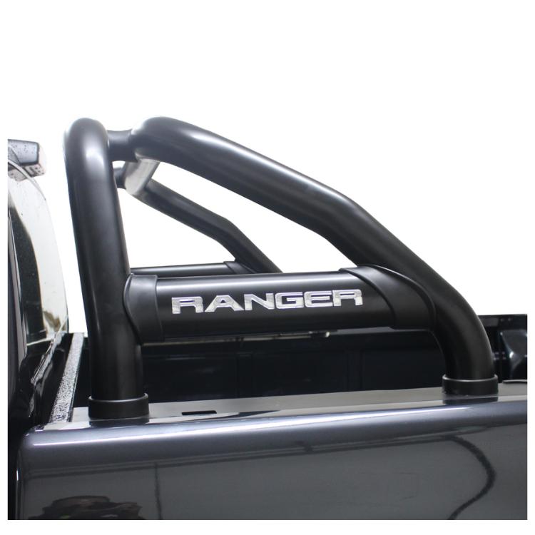 Ford Ranger T6 Facelift Sports Bar Roll Bar Black 2012> Oval Range BS-150043