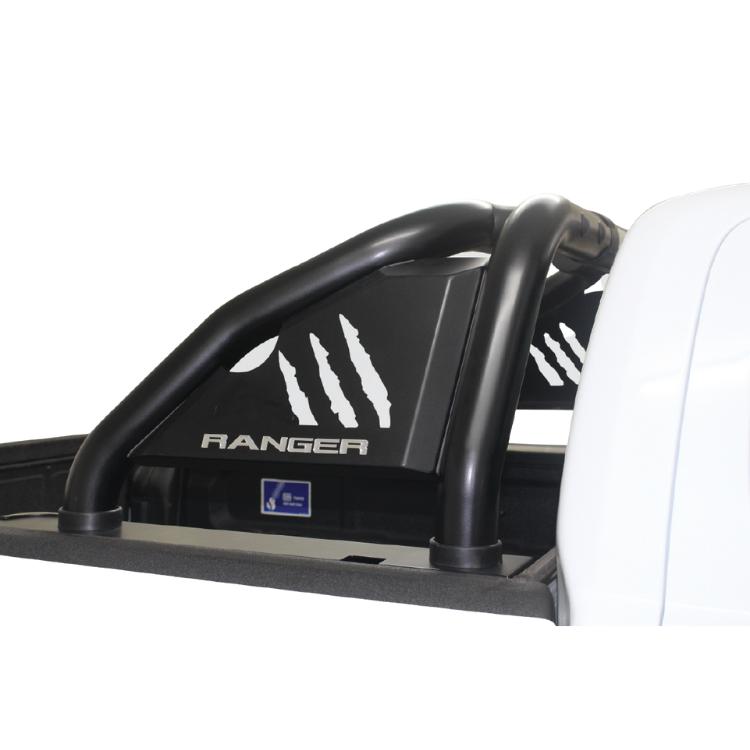 Ford Ranger Sports Bar Roll Bar Black Brake Light Integration Raptor Name Plate 2012> BS-150049