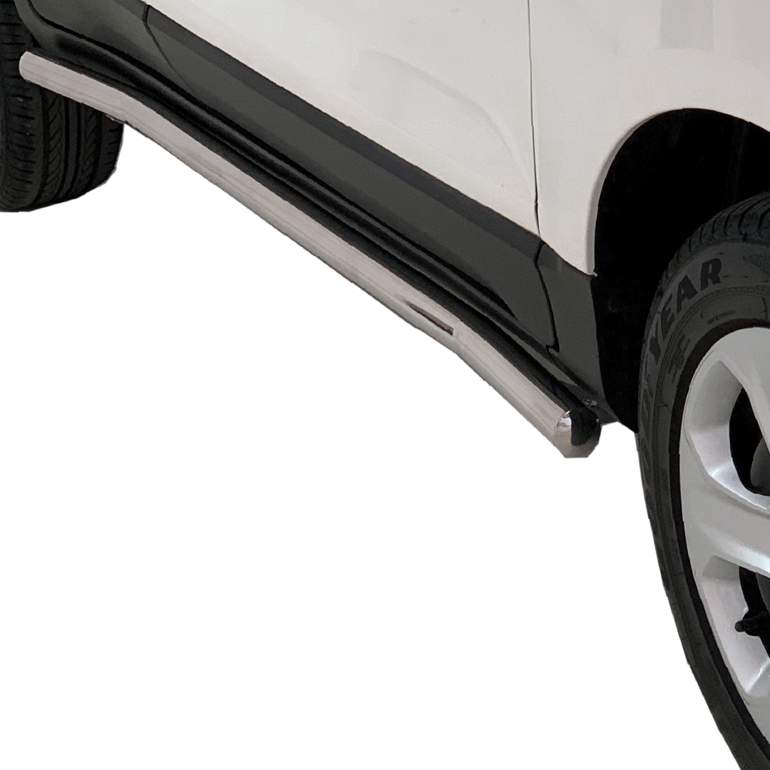 Ford EcoSport Side Bars Side Steps Stainless 2016> 150062T – Plus FREE LED Spot Lights