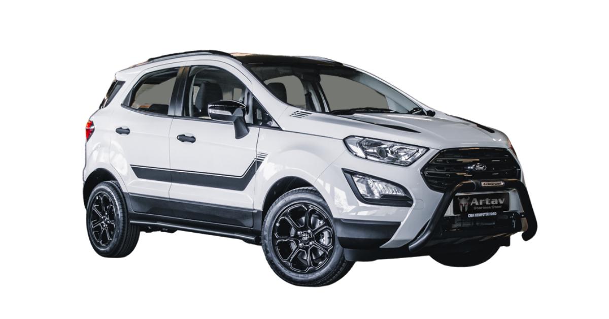 Ford EcoSport Side Bars Side Steps Black 2016> BS-150062 – Plus FREE LED Spot Lights