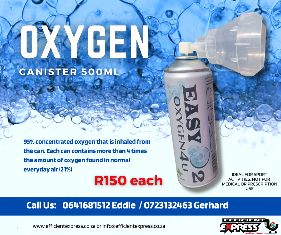 Oxygen Gas Canister 500ml
