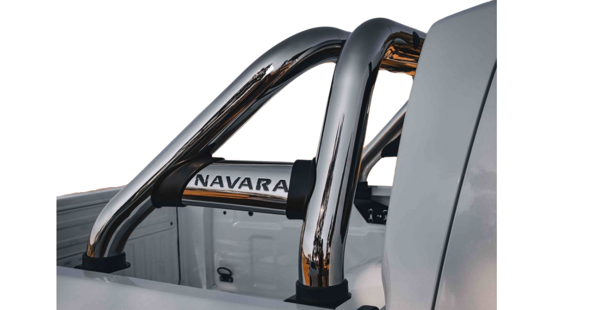 Nissan Navara D23 Facelift Roll Bar Stainless 2021+ 170048T – Plus FREE LED Spot Lights