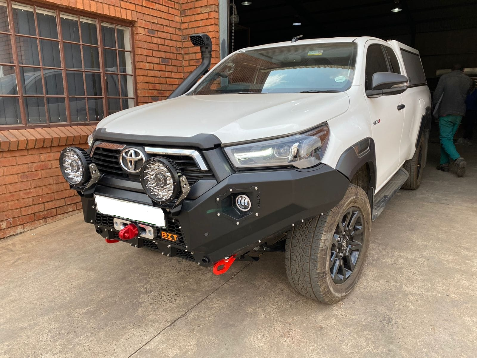 Toyota Hilux Legend 2021 Replacement Steel BZT Bumper With Fog Lights (PDC Friendly & Winch Ready) (Courier Not Included, Please Request Separate Quote)