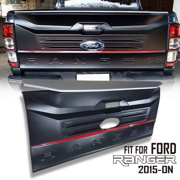 Ford Ranger 2012-2021 Tailgate Extra Cover Fit Design With Logo