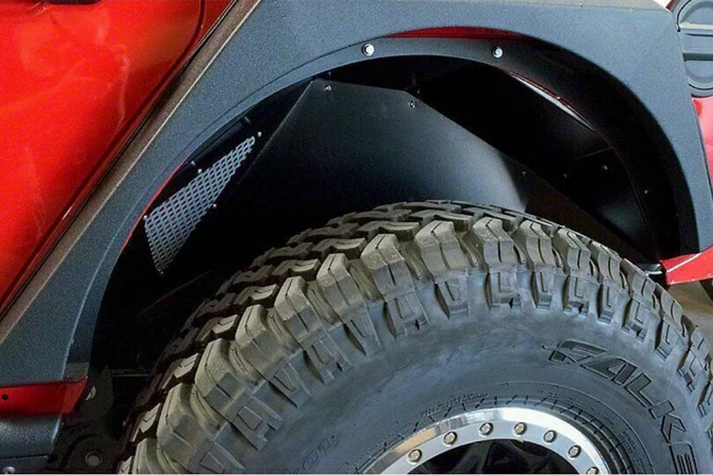 Jeep Wrangler Paramount JL Aluminum Rear Inner Fender Kit